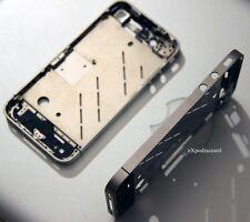 IPHONE 4S CHASSIS BEZEL METAL COMPLET HAUTE QUALITE CONTOUR ALU AVEC PLAQUE