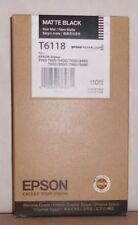 Original Epson T6118 Tinte Stylus Pro 7400 9400 7450 9450 Matte Black schwarz