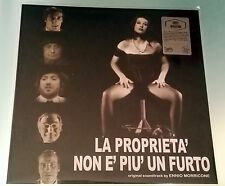 LP Ennio Morricone - La Proprieta' Non e' Piu' Un Furto Colonna Sonora Vinile
