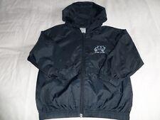 Navigator Kids Unisex Navy Hooded Full Zipped Front Rain Jacket Size 3-4 Years