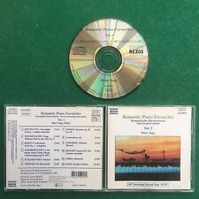 1 CD Musica ROMANTIC PIANO FAVOURITES Vol.2 PETER NAGY (1987) Naxos Germany