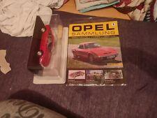 Opel -  Modellautosammlung Nr. 1 - Maxi Maßstab 1 :24