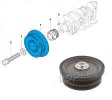 BMW E84 E87 E90 E91 E60 X3 120d 118d 318d 320d 520d Crankshaft Belt Pulley