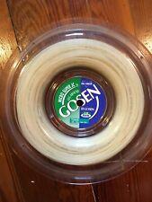 Gosen OG-Sheep Micro Super JC 16 synthetic gut tennis string reel – Jim Courier