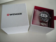 Wenger (Victorinox) Seaforce 200m Diver Mens s/st Watch Swiss BNWT Sapphire Crys