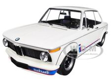 1973 BMW 2002 TURBO WHITE W/ STRIPES 1/18 DIECAST MODEL BY MINICHAMPS 155026200