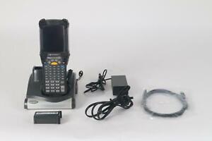 Motorola Simbolo MC9190 Palmare Barcode Scanner WinCE6 Con Culla E Stilo