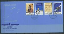 BAT, British Antarctic Territory 1986 Space, Halley's Comet FDC
