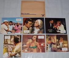 ONCE YOU KiSS A STRANGER Paul Burke Carol Lynley 6 FRENCH LOBBY CARDs set A