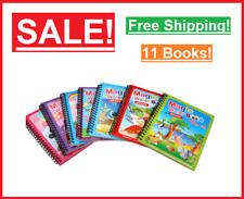 ✅ New Kids Coloring Book Reusable Coloring Book Magic Water Drawing Books Sensor