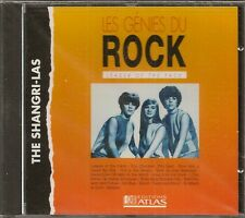 MUSIQUE CD LES GENIES DU ROCK EDITIONS ATLAS - THE SHANGRI-LAS N°16