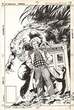 Alan Davis SIGNED BBC Doctor Who Age of Chaos Original UK Cover Art Colin Baker Comic Art