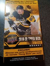 2019-20 Upper Deck NHL Series 1 Blaster Box- 6 Packs Per box + 1 Bonus SEALED!!