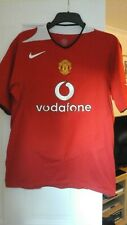 Manchester United home shirt Large  adults  2004/2006 new football kit top 60