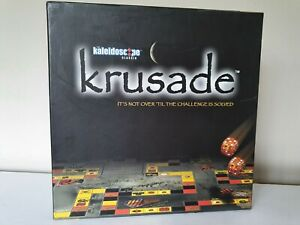 KRUSADE Challenge Puzzle Board Game Complete 2003