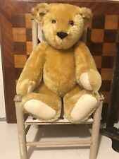 1992 Vintage Mohair Classic Jointed Bear Vermont Teddy Bear Co Clean 14 Inch