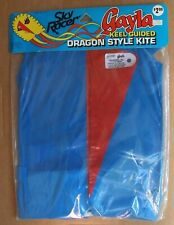 Vintage 1983 Gayla Sky Racer Dragon Style Keel Guided Plastic Kite  #719 NEW NOS
