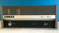 SHURE Vintage Power Master PM300 Amplifier - All Silicon Transistor - 100 watts