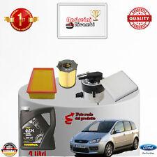 Kit Inspección Filtros + Aceite Ford Focus C-Max 1.6 TDCI 66KW 190CV de 2006- >