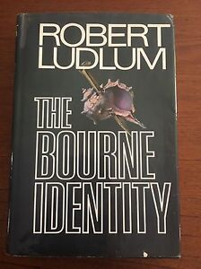 The Bourne Identity By Robert Ludlum 1st Printing First Edition 1980