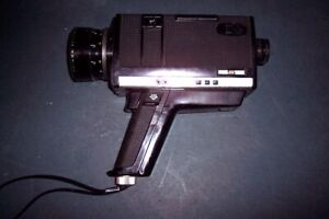 GAF XI Vintage SUPER 8mm Movie Camera, SELLING AS FOUND