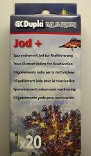 Dupla Marin Jod + 20 Ampullen  Spurenelement für Meerwasser Aquarien 1,07€/St.