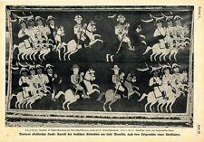 Deutsche Diplomaten in der abbessinischen Kunst Historische Aufnahme von 1910