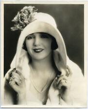 Bebe Daniels Vintage Silent Era Original Gene Richee Stamped Glamour Photo 1920s