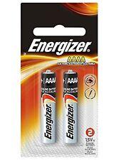 Eveready E96BP2 Energizer Alkaline AAAA Batteries EVEE96BP-2
