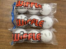 9 Official Wiffle Balls Baseballs in Polybags