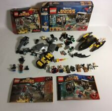 Lego Lot Superheros Star wars * Mini Figures Superman Batman Ironman Manual Box