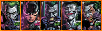 BATMAN THREE JOKERS #2 (5 VARIANT COVER SET) + PROMO CARD Joker DC 2020 NM- NM