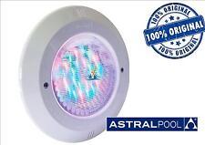 CORPO FARO COMPLETO DI CAVO LAMPADA FLANGIA ASTRAL PAR56 LED PISCINA LUCE RGB