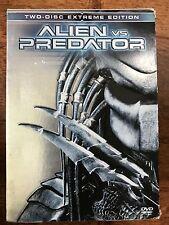 ALIEN VS PREDATOR ~ 2004 Horror / Sci-Fi Sequel DTS | 2 Disc UK DVD w/ Slipcover
