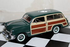 Franklin Mint 1:43 Scale 1950 FORD STATION WAGON (GREEN WOODY)