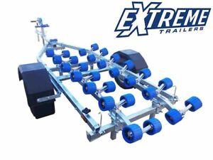 New Extreme 750kg Jetski Boat Trailer Roller Bank