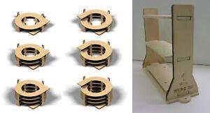 Gleiswendel 1-3,5 Umdrehungen, frei wählbar für H0 Gleise 2-gleisig, 6mm stark