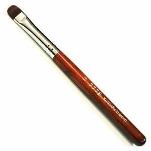 777F Kolinsky French Nail Art Brush Red wood Handle Manicure Pedicure Size # 16