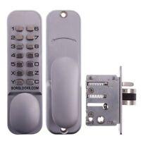 Borg Digital Keyless Short Backset Lock 2002 - Push Button-BL2002SC-Free Post