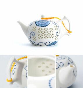 worthwhile tea set Chinese porcelain tea pot pitcher gaiwan tea cup strainer new