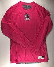 St. Louis Cardinals Mother's Day Pink Long Sleeve Nike Dri Fit Shirt Medium