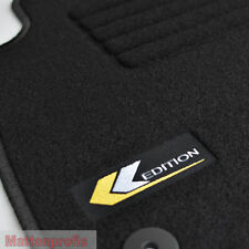 Velours Logo Fußmatten für Opel Vectra C + Vectra C GTS ab Bj.2002 -
