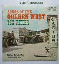 TEX RITTER - Songs Of The Golden West - Excellent Condition LP Record MFP 1076