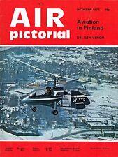 AIR PICTORIAL OCT 73: VICKERS VILDEBEEST/ 35 SQN HISTORY/SEA VENOM/FINN AVIATION