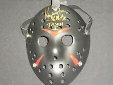 WARRINGTON GILLETTE Signed Hockey MASK Jason Voorhees Autograph Friday 13th BK