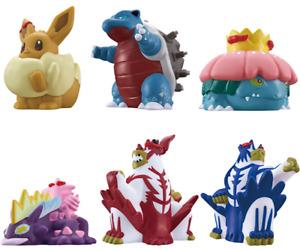 "PSL Pokémon kids ""Ver. Gigamax vol.2"" Soft vinyl Figure Finger puppet Japan"