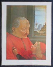Domenico Ghirlandaio - The Old Man And His Grandson Original Laminated Art Print