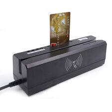 4In-1MCR400 RFID &13.56M HZ NFC& Psam Card 4In-1 MAG &IC Chip Reader /Writer USB