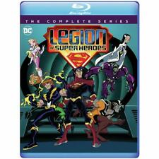 Legion of Super Heroes: The Complete Series 2006-2008 (Blu-ray) 3-Disc Set New!