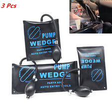 Door Panel Gap Dent Tool AirBag Wedge Alignment Inflatable Shim Set Hand Pump